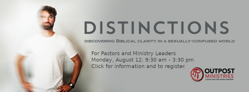 Distinctions seminar logo and information for pastors and ministry leaders
