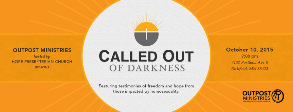 Called Out of Darkness Celebration 2015