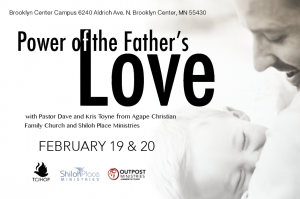 Father's Love Conferences Postcard