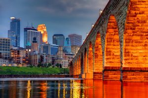 Image of Stone Arch Bridge, Minneapolis, MN